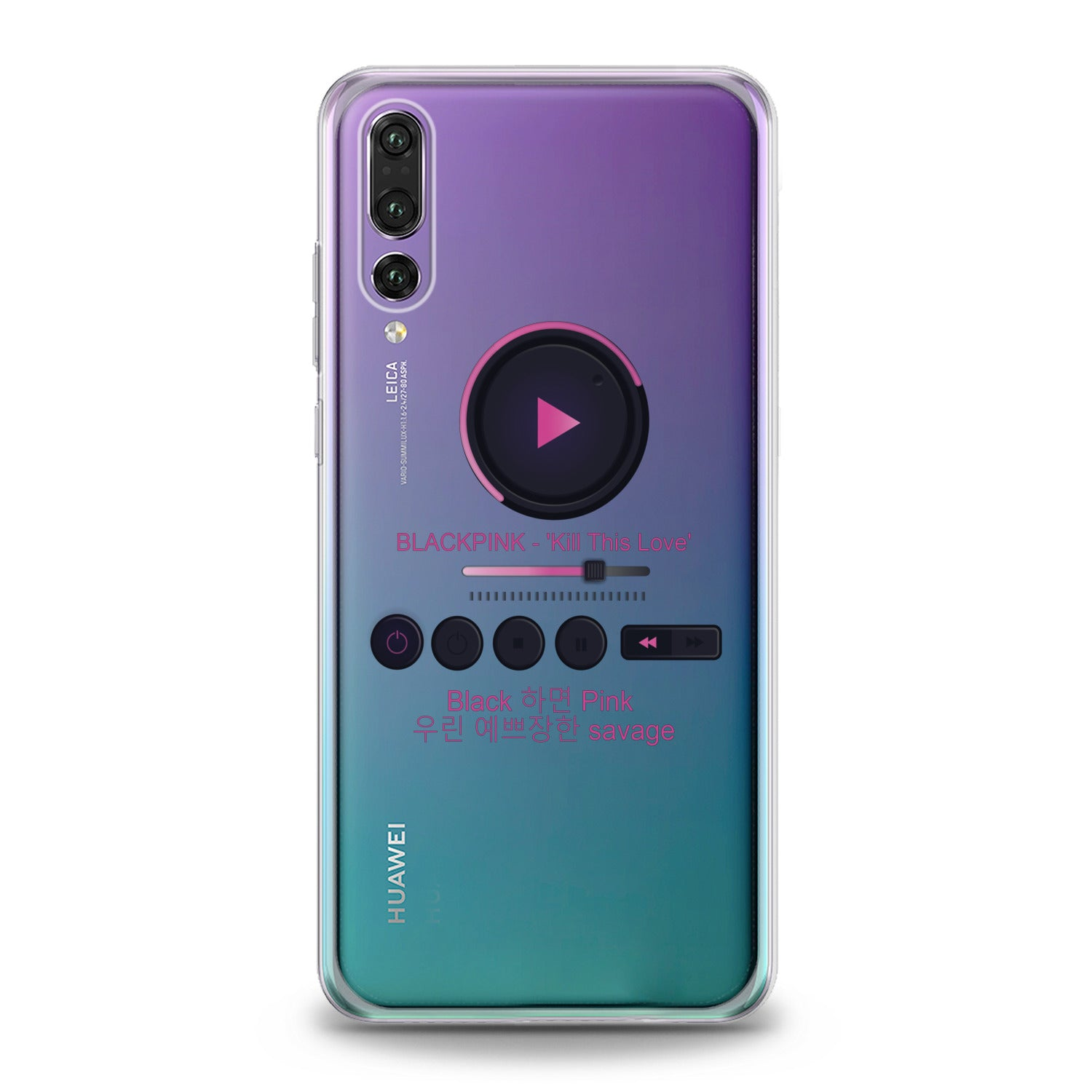 Lex Altern Kpop Music Play Huawei Honor Case
