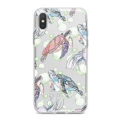 Lex Altern TPU Silicone Phone Case Cute Turtle