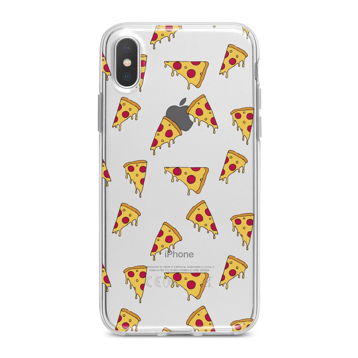 Lex Altern Pizza Pattern Phone Case for your iPhone & Android phone.