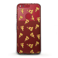 Lex Altern TPU Silicone Phone Case Pizza Pattern