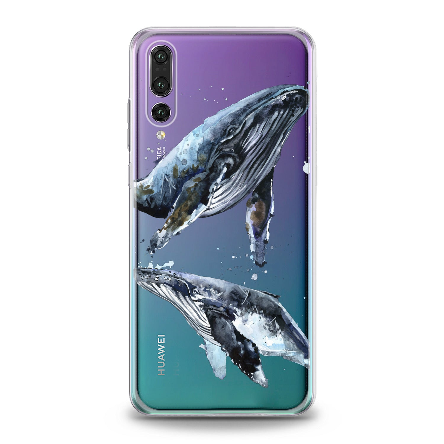 Lex Altern Whale Animal Huawei Honor Case