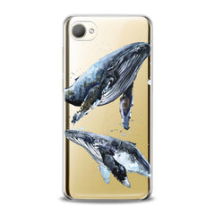 Lex Altern TPU Silicone HTC Case Whale Animal