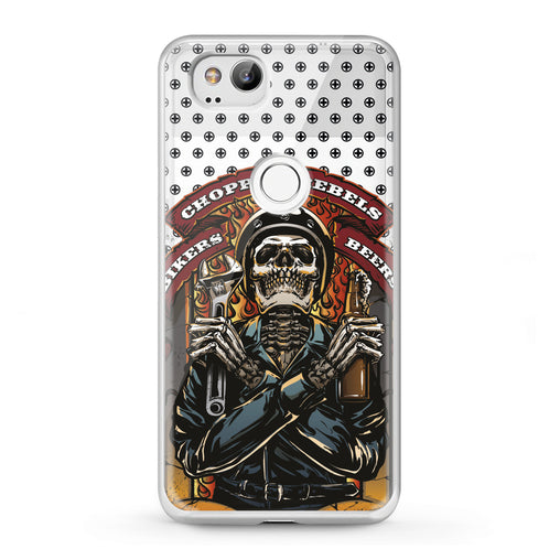 Lex Altern Google Pixel Case Stylish Skeleton