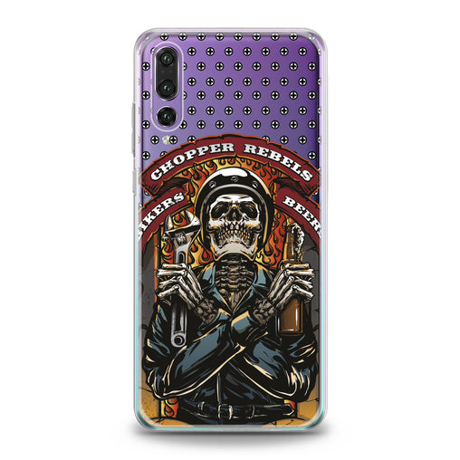 Lex Altern TPU Silicone Huawei Honor Case Stylish Skeleton