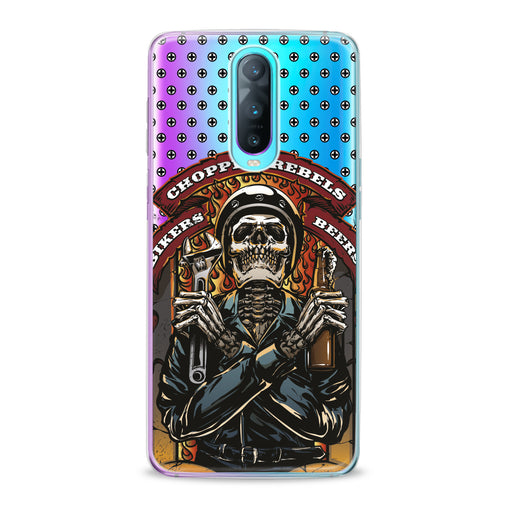 Lex Altern TPU Silicone Oppo Case Stylish Skeleton