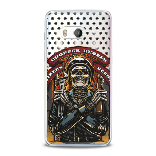Lex Altern TPU Silicone HTC Case Stylish Skeleton