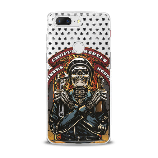 Lex Altern TPU Silicone OnePlus Case Stylish Skeleton