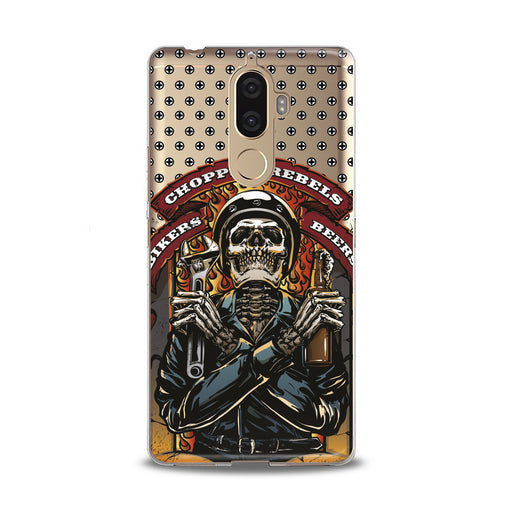Lex Altern TPU Silicone Lenovo Case Stylish Skeleton