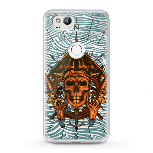 Lex Altern Google Pixel Case Pirate Skeleton