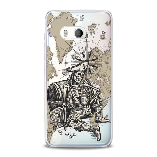 Lex Altern TPU Silicone HTC Case Dead Pirate