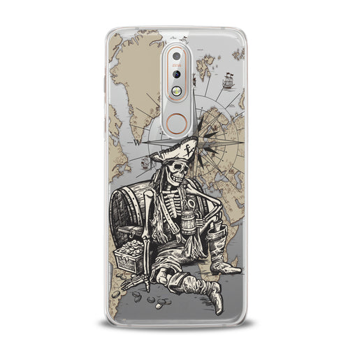 Lex Altern TPU Silicone Nokia Case Dead Pirate