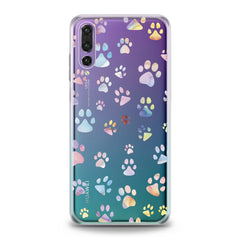 Lex Altern TPU Silicone Huawei Honor Case Paw Pattern