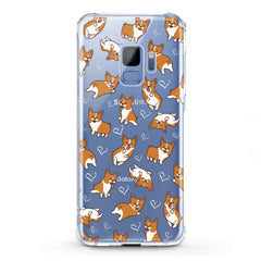 Lex Altern TPU Silicone Phone Case Love Corgi