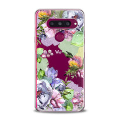 Lex Altern TPU Silicone Phone Case Watercolor Flowers Art