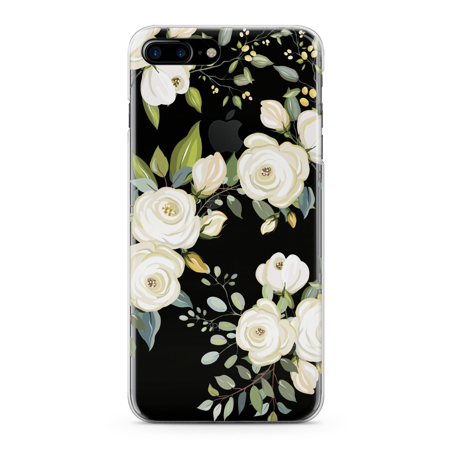 Lex Altern White Roses Phone Case for your iPhone & Android phone.