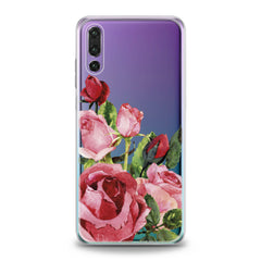 Lex Altern Floral Red Roses Huawei Honor Case