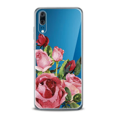 Lex Altern TPU Silicone Huawei Honor Case Floral Red Roses