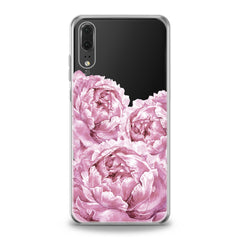 Lex Altern Pink Peonies Huawei Honor Case