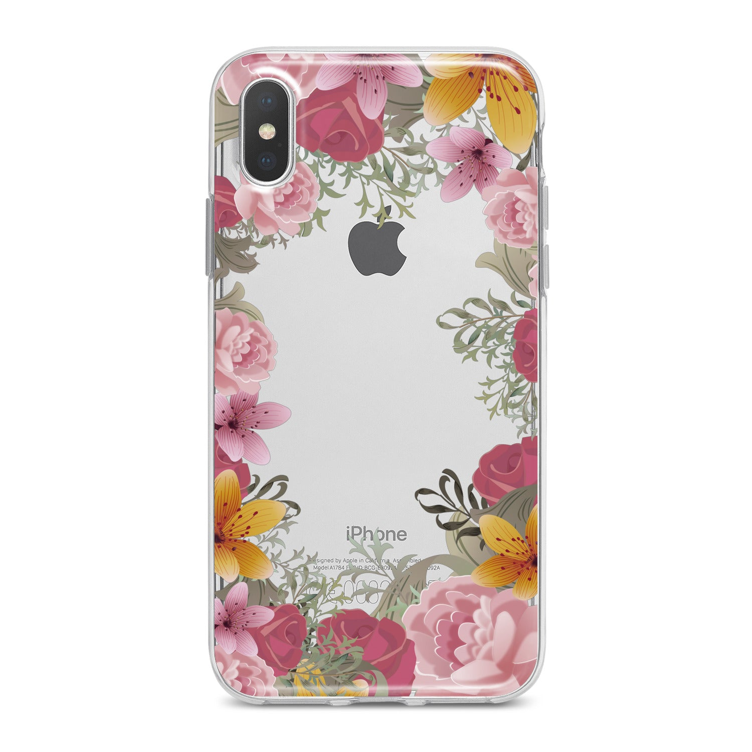 Lex Altern Pink Bouquet Phone Case for your iPhone & Android phone.