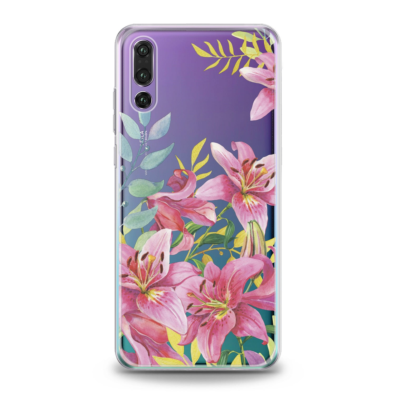 Lex Altern Lily Flowers Huawei Honor Case