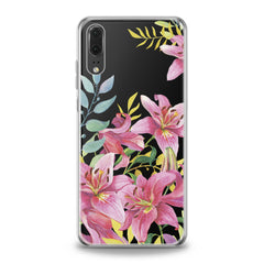 Lex Altern TPU Silicone Huawei Honor Case Lily Flowers