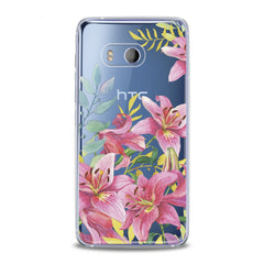 Lex Altern TPU Silicone HTC Case Lily Flowers