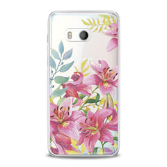 Lex Altern Lily Flowers HTC Case