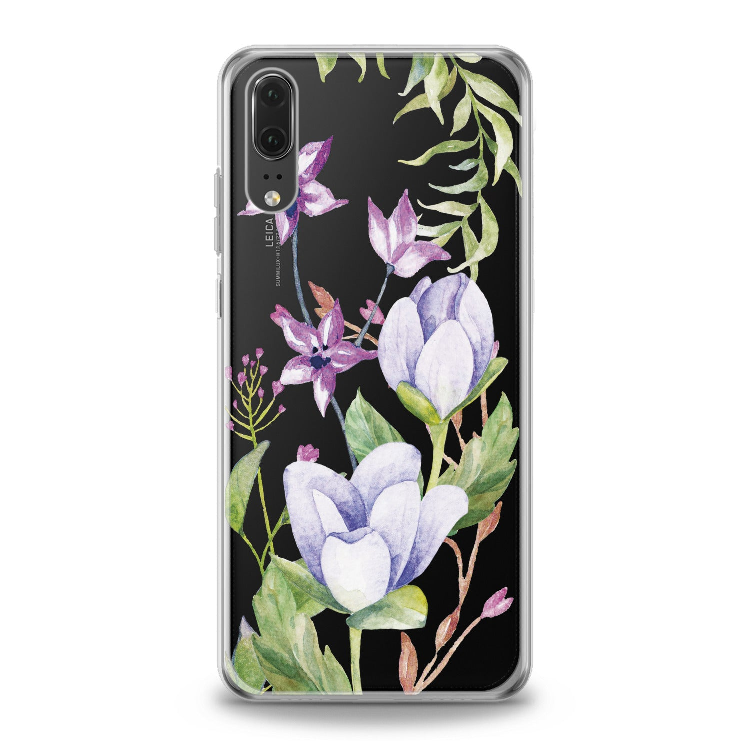 Lex Altern Spring Flowers Huawei Honor Case