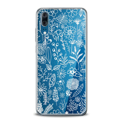 Lex Altern TPU Silicone Huawei Honor Case White Floral Pattern