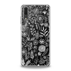 Lex Altern White Floral Pattern Huawei Honor Case
