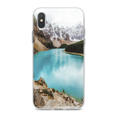 Lex Altern Painted Mountains Phone Case for your iPhone & Android phone.