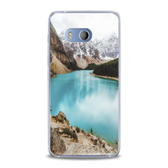 Lex Altern TPU Silicone HTC Case Painted Mountains