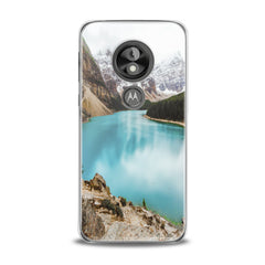Lex Altern TPU Silicone Phone Case Painted Mountains