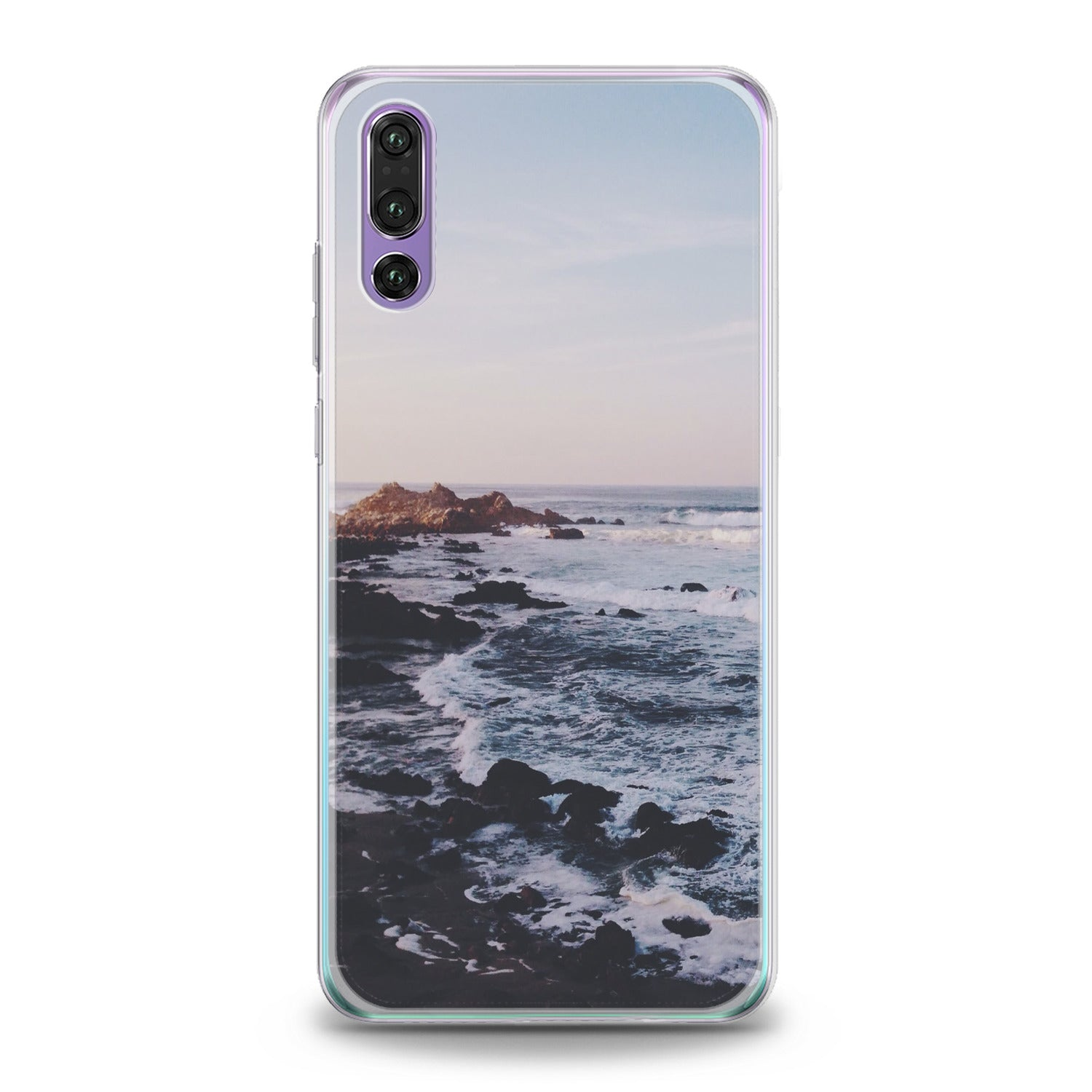 Lex Altern Sunset Sea Waves Huawei Honor Case