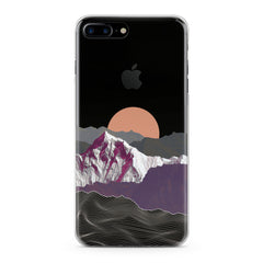 Lex Altern TPU Silicone Phone Case Mountain Sunrise