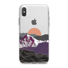 Lex Altern Mountain Sunrise Phone Case for your iPhone & Android phone.