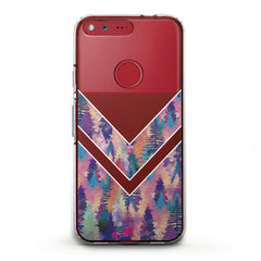 Lex Altern TPU Silicone Phone Case Forest Abstraction