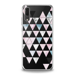 Lex Altern Triangle Print Huawei Honor Case