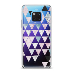Lex Altern TPU Silicone Huawei Honor Case Triangle Print