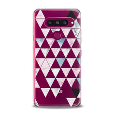 Lex Altern TPU Silicone Phone Case Triangle Print