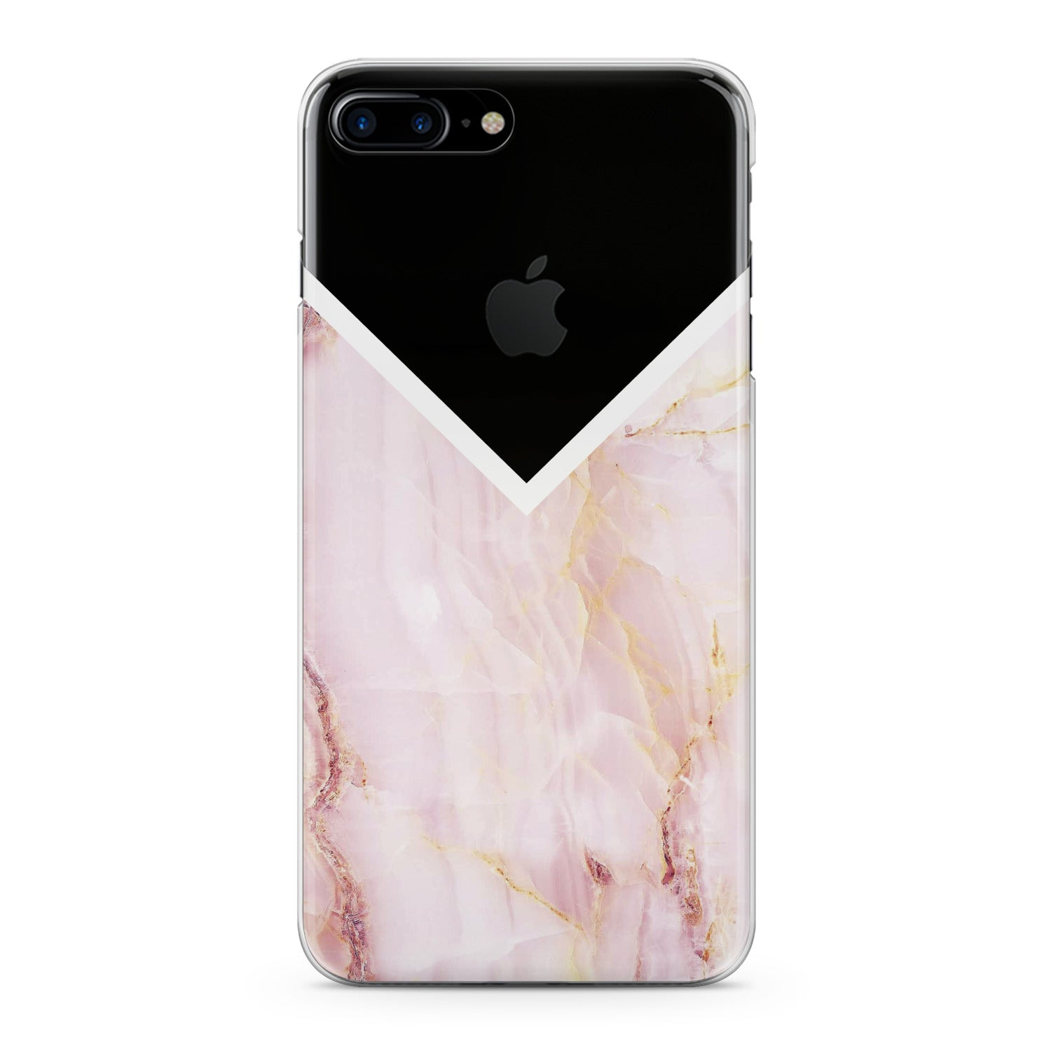 Lex Altern Pink Marble Phone Case for your iPhone & Android phone.