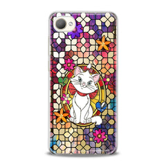 Lex Altern TPU Silicone HTC Case Adorable White Cat