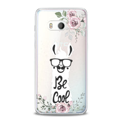 Lex Altern TPU Silicone HTC Case Smart White Donkey