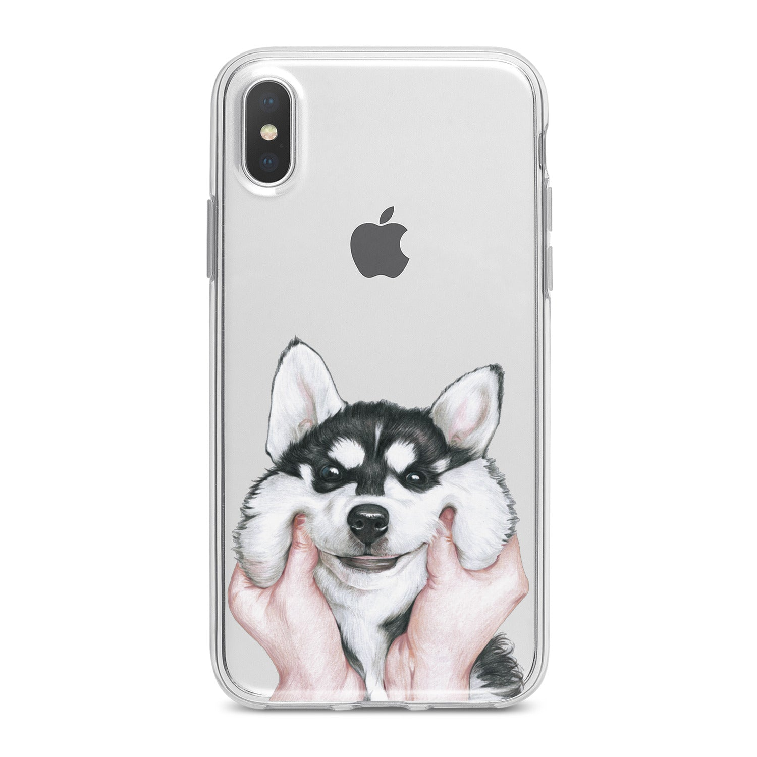 Lex Altern Charming Husky Phone Case for your iPhone & Android phone.