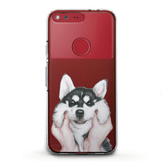 Lex Altern TPU Silicone Phone Case Charming Husky