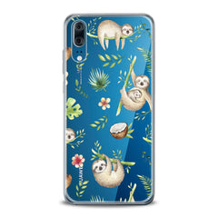 Lex Altern TPU Silicone Huawei Honor Case Funny Sloths