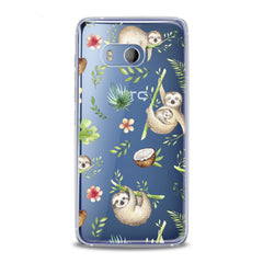 Lex Altern Funny Sloths HTC Case
