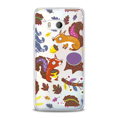 Lex Altern Squirrel Hedgehog Friends HTC Case