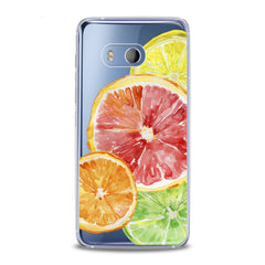 Lex Altern TPU Silicone HTC Case Colored Citruses