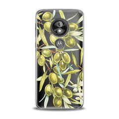 Lex Altern TPU Silicone Phone Case Green Olives